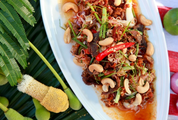263_ Crispy duck with Thai coconut-chili dressing