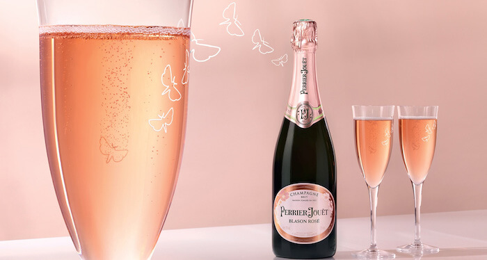Eat and Drink Pink with Perrier-Jouët